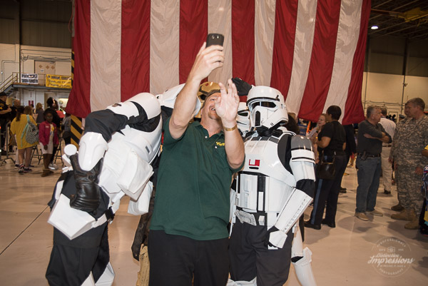 Selfie with Storm Troopers