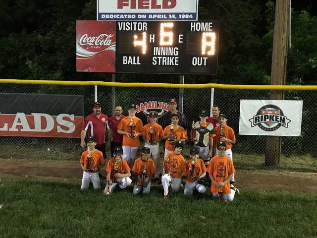 08f1c6ddb The MRS Orioles defeated the U.S. Army Yankees to win this year s Major  (11-12) Division playoff championship. Tags Baseball ...