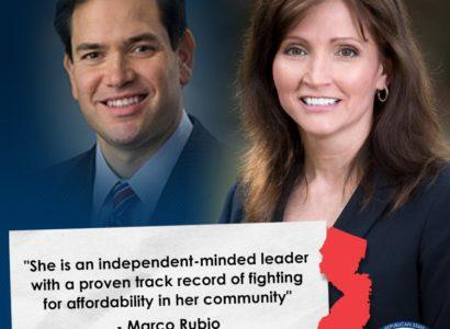 Marco Rubio Ileana Schirmer Hamilton NJ senate nj14