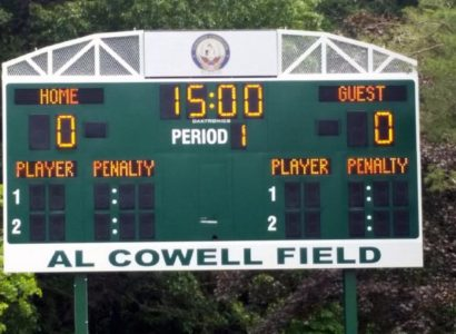 Patriot Games Al Cowell Scoreboard