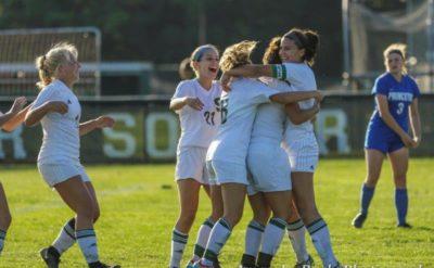 - Emily Gulsby's goal in overtime Steinert Girls soccer