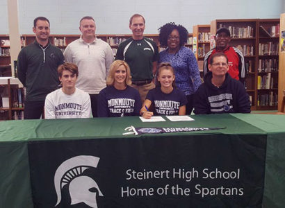 Ashley Navarro Steinert Signing to Monmouth