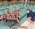 Nottingham girls swim team defeats Steinert for first time this century