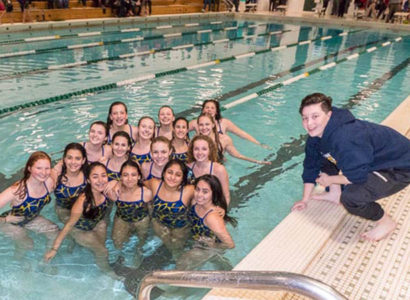 Nottingham Girls Swim Team 2018