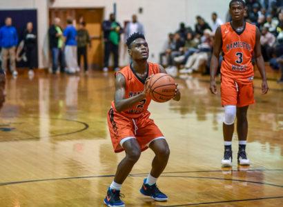 Javon Porter Hamilton West Basketball