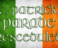 St. Patrick's Day Parade Postponed