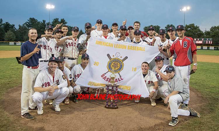 Broad Street Park Post 313 New Jersey American Legion Baseball Champions