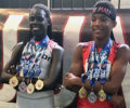 Mercerville's Shamali Whittle grabs his first two gold medals at AAU Junior Olympics