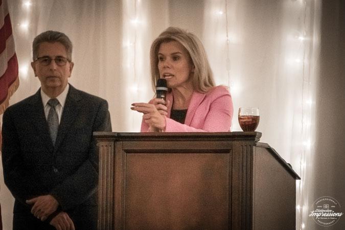 Hamilton Republican Mayor Kelly Yaede