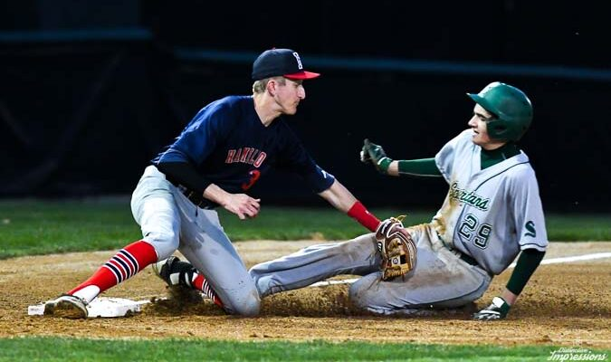 Hamilton vs Steinert Baseball patriot games