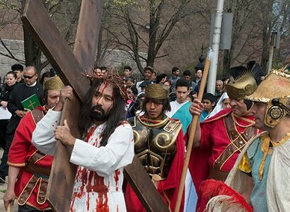 stations of the cross procession