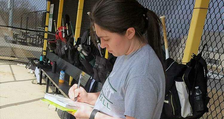 Jen Melker Steinert Softball