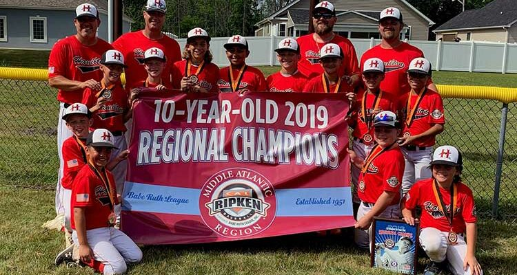 Hamilton Little Lads 10s win regional title and are headed