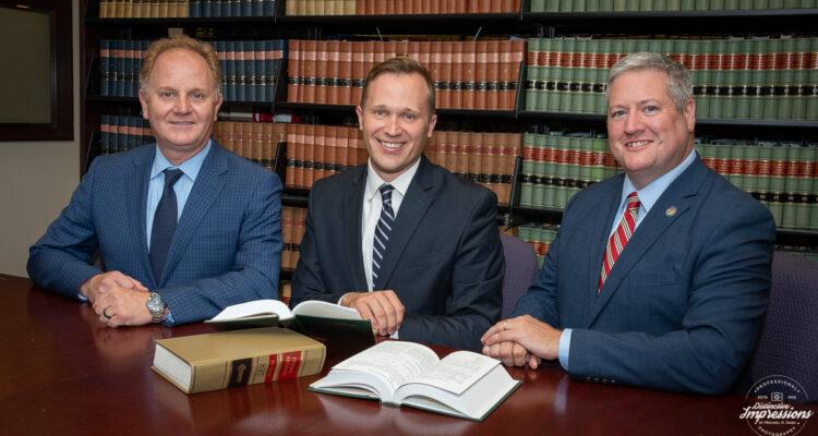 Assemblyman Wayne DeAngelo, Assemblyman Dan Benson and Mayor Jeff Martin