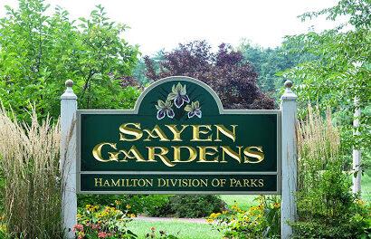 Sayen Gardens Hamilton NJ