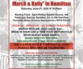 Call to Action Unity March to take place Saturday, June 27