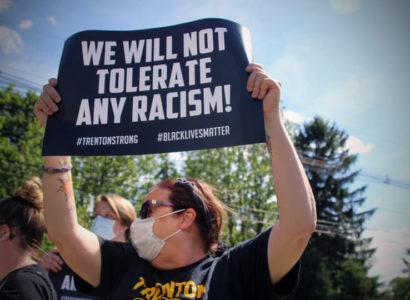 Protest in Hamilton