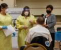 Area First Responders Receive COVID-19 Vaccination
